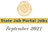 State Job Portal Vacancies: September 2021